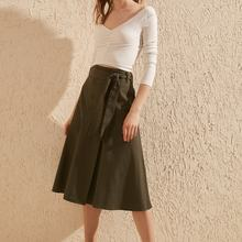Trendyol Button Lacing Detailed Skirt TWOSS20ET0248