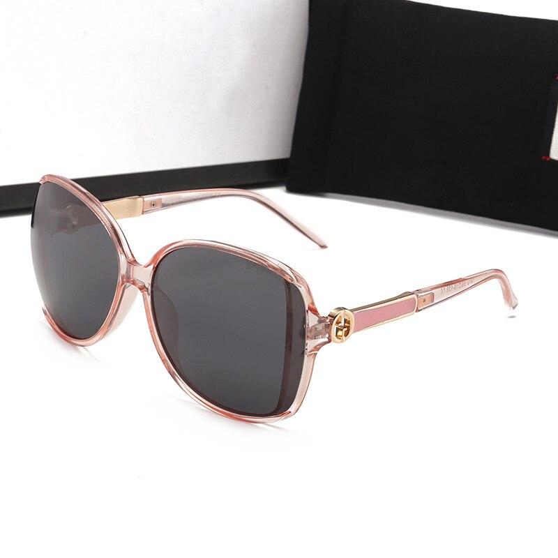 Oversized Sunglasses Women Polarized Glasses Fashion Brand Designer Retro Eyewear UV400 Shopping Mirror Ladies Classic Sun Glass