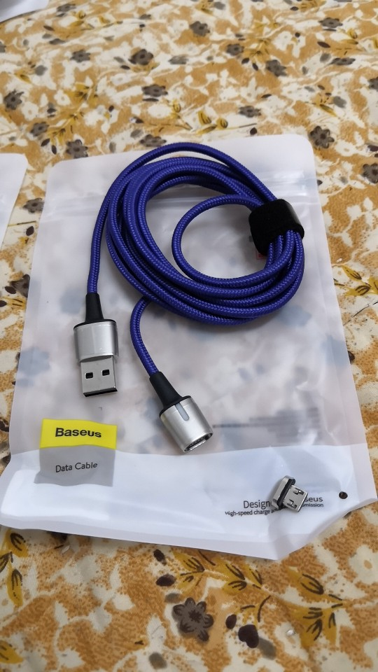 Baseus Magnetic Micro USB Cable For iPhone Samsung Fast Charging Magnet Charger Adapter USB Type C Mobile Phone Cables Wire Cord-in Mobile Phone Cables from Cellphones & Telecommunications on AliExpress