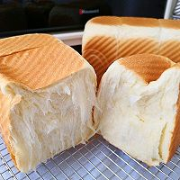适合懒人的土司,一次发酵手撕土司的做法图解15