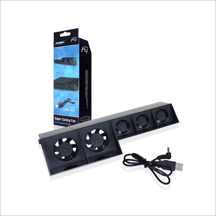 PS4 External Super Cooling Fan Turbo Cooler for Playstation 4 usb powered external side cooling fan for xbox 360 slim