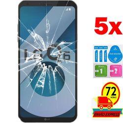 5x Protectors Screen szkło hartowane do zestawu LG Q6 (nie w pełni patrz informacje)