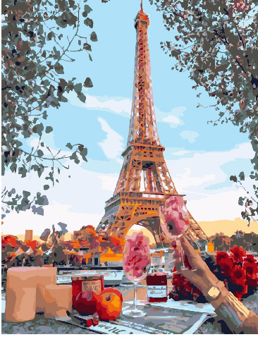 Painting By Numbers PK 30068 Perfect Dinner 40*50