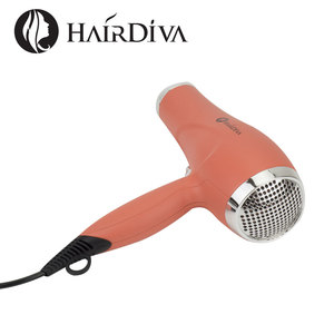 Image 3 - HairDiva rosa dorada Secador de pelo profesional de 2000w DC Motor , iónico secador de cabelo volumeizador , hair dryer Los iones negativos alisan y nutren el cabello aire frio y caliente