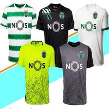 new 2021 Sporting Lisbon Soccer Jerseys 20 21 away green COATES ACUNA RAPHINHA Shirts Lisbon DOST PHELLYPE 3rd Football Uniforms