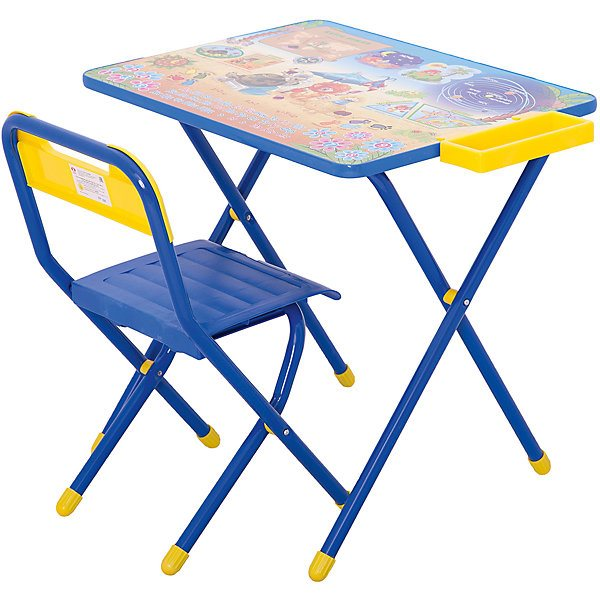 Furniture Set Дэми Little Lion And Turtle (3-7 Years), Blue MTpromo