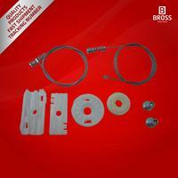 BWR5238 ربع منظم للنوافذ مجموعة إصلاح الخلفية ل F. o. R. D موستانج قابلة للتحويل 2005 2009-في الزجاج الآلي من السيارات والدراجات النارية على
