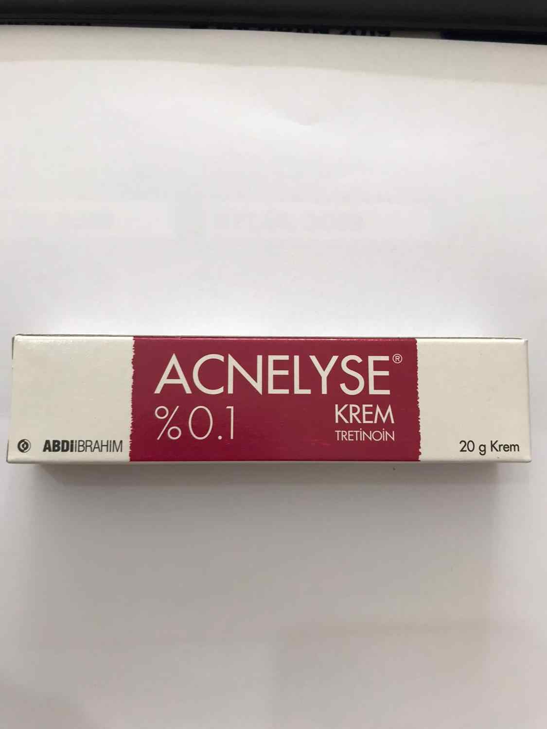 Acnelyse Cream 0 1 20 G Acne Fine Wrinkles Beatiful Skin Face Damage Rays Caused By The Sun Aliexpress