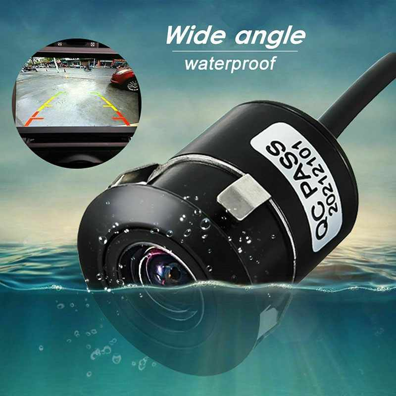 170 ° 広角車のリバースカメラ Hd ナイトビジョン後姿バックアップ駐車ビデオカメラ非常に防水反転モニター