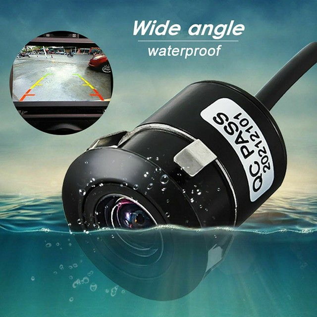 170° Wide Angle Car Reverse Camera HD Night Vision Rear View Camera Backup Parking Camcorder Highly Waterproof Reversing Monitor