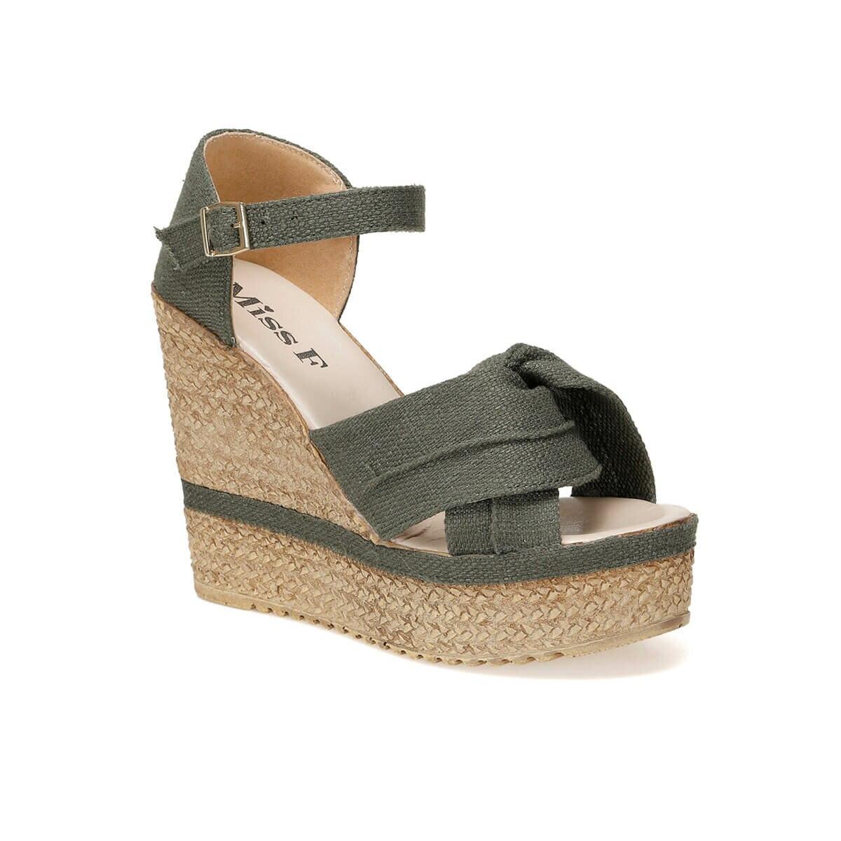FLO DS19119 Khaki Women 'S Sandals Miss F