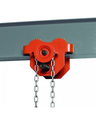 UNICRAFT 6171800 TROLLEY HANDBOOK WITH CHAIN FOR HOIST RFW 0,5-0,5 T