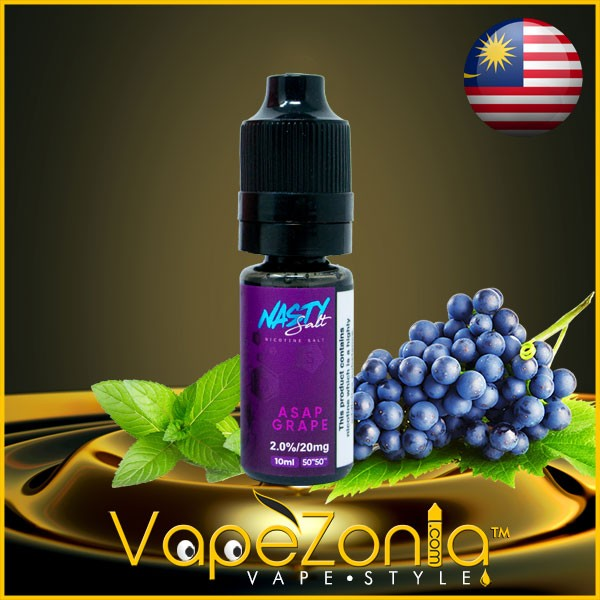 Nasty Salt ASAP GRAPE 10 Ml Vape Shop Valencia