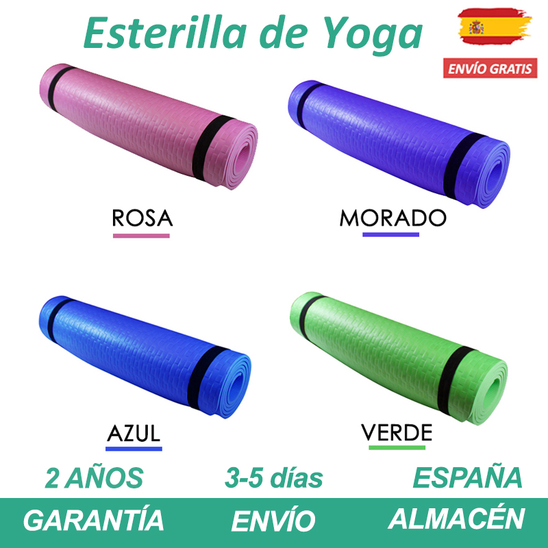 Mat Yoga Thick Slip Mouse Yoga Mat Thickness 8 Mm Pilates Mat Mat Sport With Correa De Shoulder