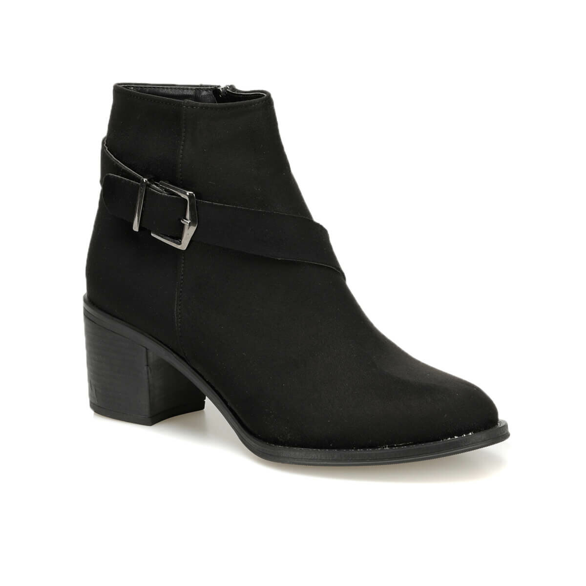FLO GAITAN85Z SUEDE Black Women Boots BUTIGO