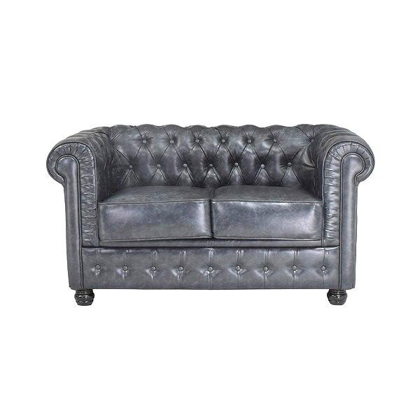 2 Seater Chesterfield Sofa (140 X 80 X 72 Cm)
