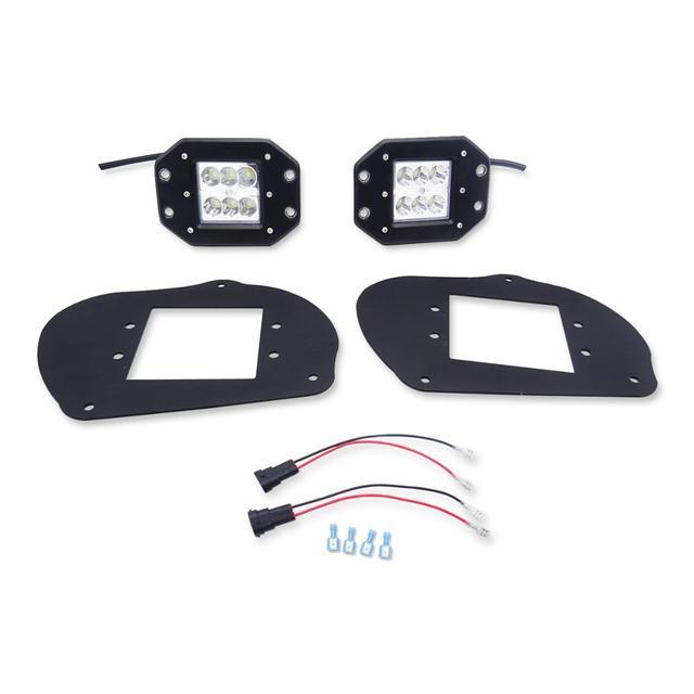 24W LED phares projecteurs supports de montage voiture lumières pour Polaris Sportsman 1000 850 570 RZR 800 2008-2014 RZR 900XP 2011-2014