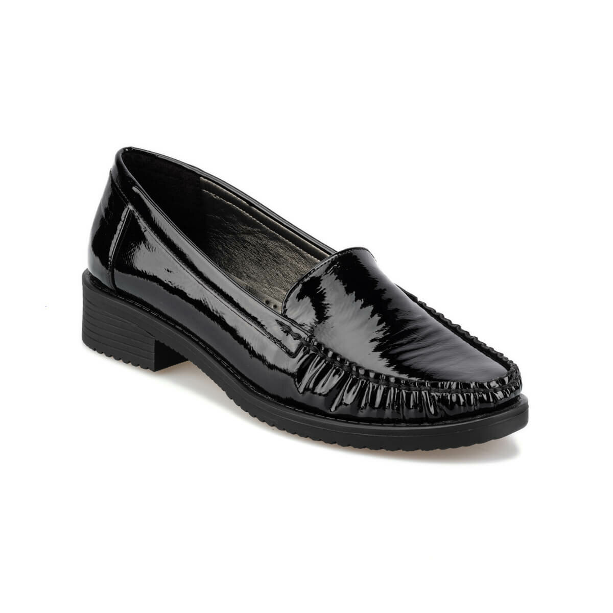 FLO 92.151056RZ Black Women Loafer Shoes Polaris