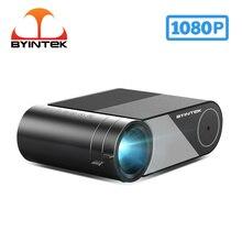 BYINTEK K9 HD 720P 1080P Mini projektor LED przenośny mikro kino domowe (opcjonalnie multi screen dla Iphone Ipad Tablet telefon)