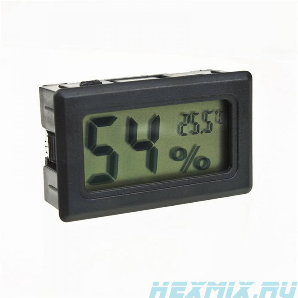 Mini Temperature And Humidity Meter (color-black)