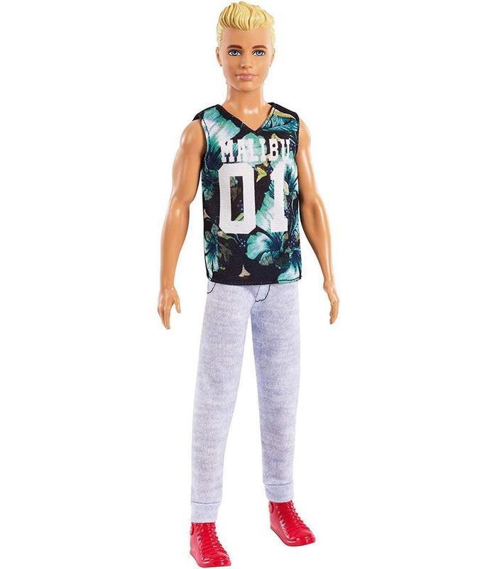 Barbie Fashionista-Ken Doll Blonde Malibu Toy Store Articles Created Handbook