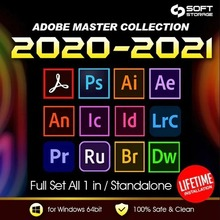 {Adobe 2020/2021 Master Collection ForEver Use Win/Mac}