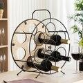 Bottiglia rotonda Cremagliera Oenology (7 Bottiglie)-in Mobiletti bar e vino da Mobili su