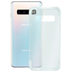 Pokrowiec na telefon Samsung Galaxy S10 KSIX pancerz ekstremalnie przezroczysty