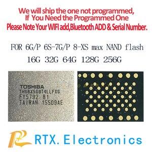 Image 5 - 512G Nand IC IPhone Xs Xs max EMMC flash bellek IC programlanmış cep telefonu devreleri onarım değiştirme IC çip Orijinal