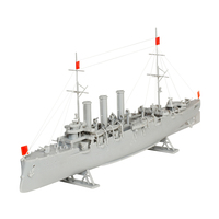 Model Building Kits OGONEK Model copy. Cruiser \Aurora\ designer toy children's team model games for boys and girls for kids toy model constructor