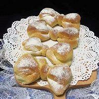 蝴蝶结面包的做法图解11