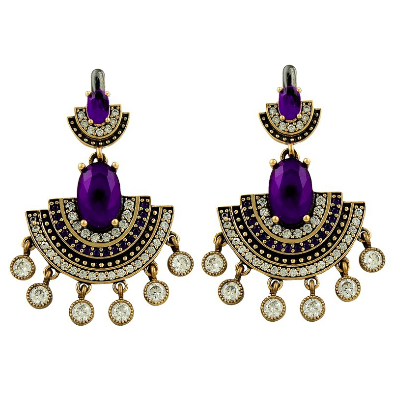 Armagano Authentic Zircon Stone Earrings