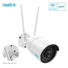 Reolink 4MP wireless ip camera wifi 2.4G/5Ghz Onvif infrared night vision waterproof outdoor indoor home surveillance RLC-410W