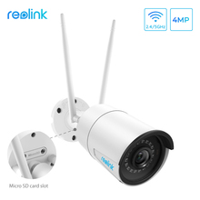 Ip-Camera Wifi Surveillance-Rlc-410w Night-Vision Onvif Waterproof Reolink 4mp Outdoor