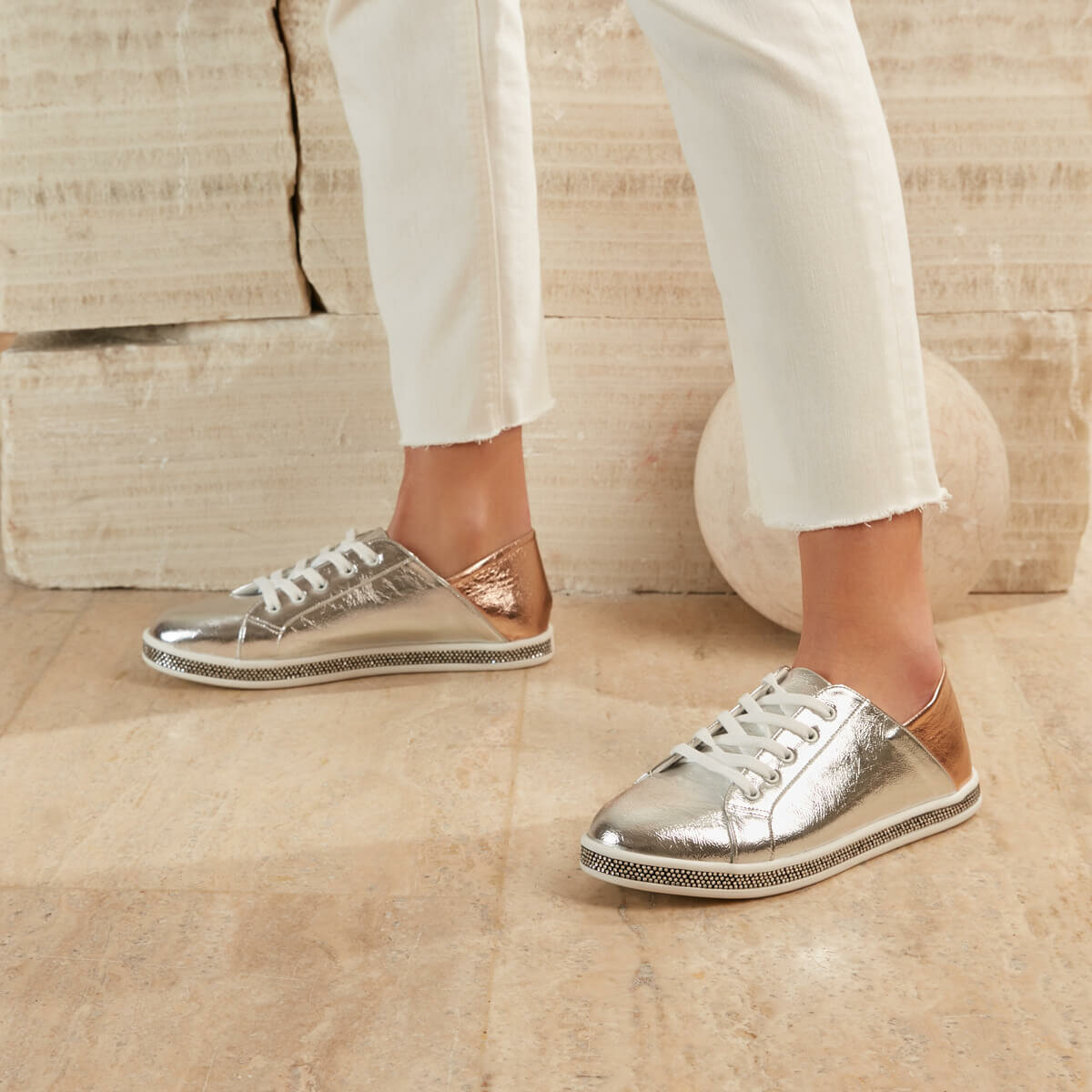 FLO BREAK87Z SKIN Lame Women Sneaker Shoes BUTIGO