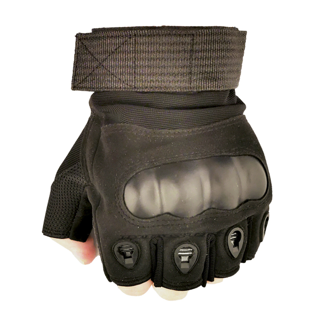 Tactical Hard Knuckle Half finger Gloves Men's Army Military Combat Hunting Shooting Airsoft Paintball Police Duty - Fingerless 3