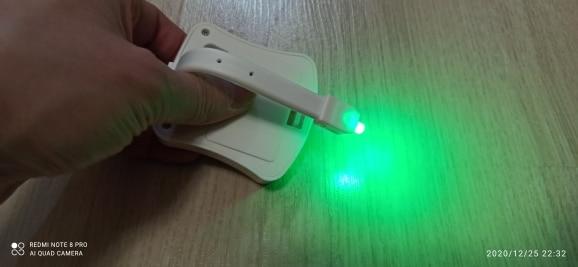 Smart Toilet Seat Motion Sensor Night Light photo review