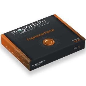 Espresso Forte Mogorttini, compatible with professional Nespresso 50 capsules.