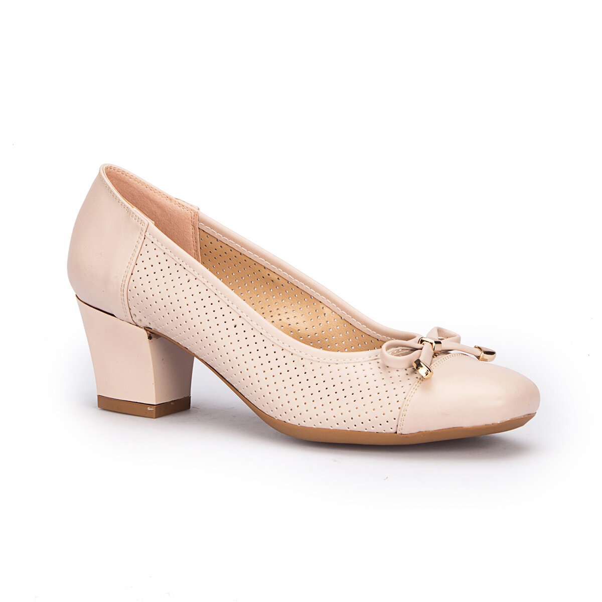 FLO 71. 309759.Z Beige Women Dress Shoes Polaris