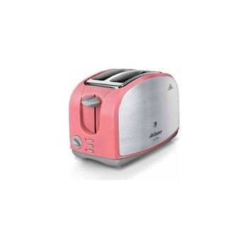 2 Slice Toaster ,Wide Slot Stainless Steel Toaster with 8 Bread Shade Settings, Reheat/Toaster - Inox Mercan Arzum AR2014 Altro недорого