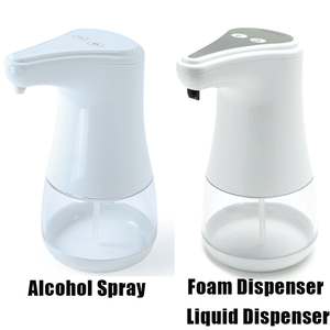 Image 5 - Automatic Soap Dispenser Touchless Alcohol Dispenser Sanitizer Disinfectant Dispensers with IR Sensor Alcohol Dispenser