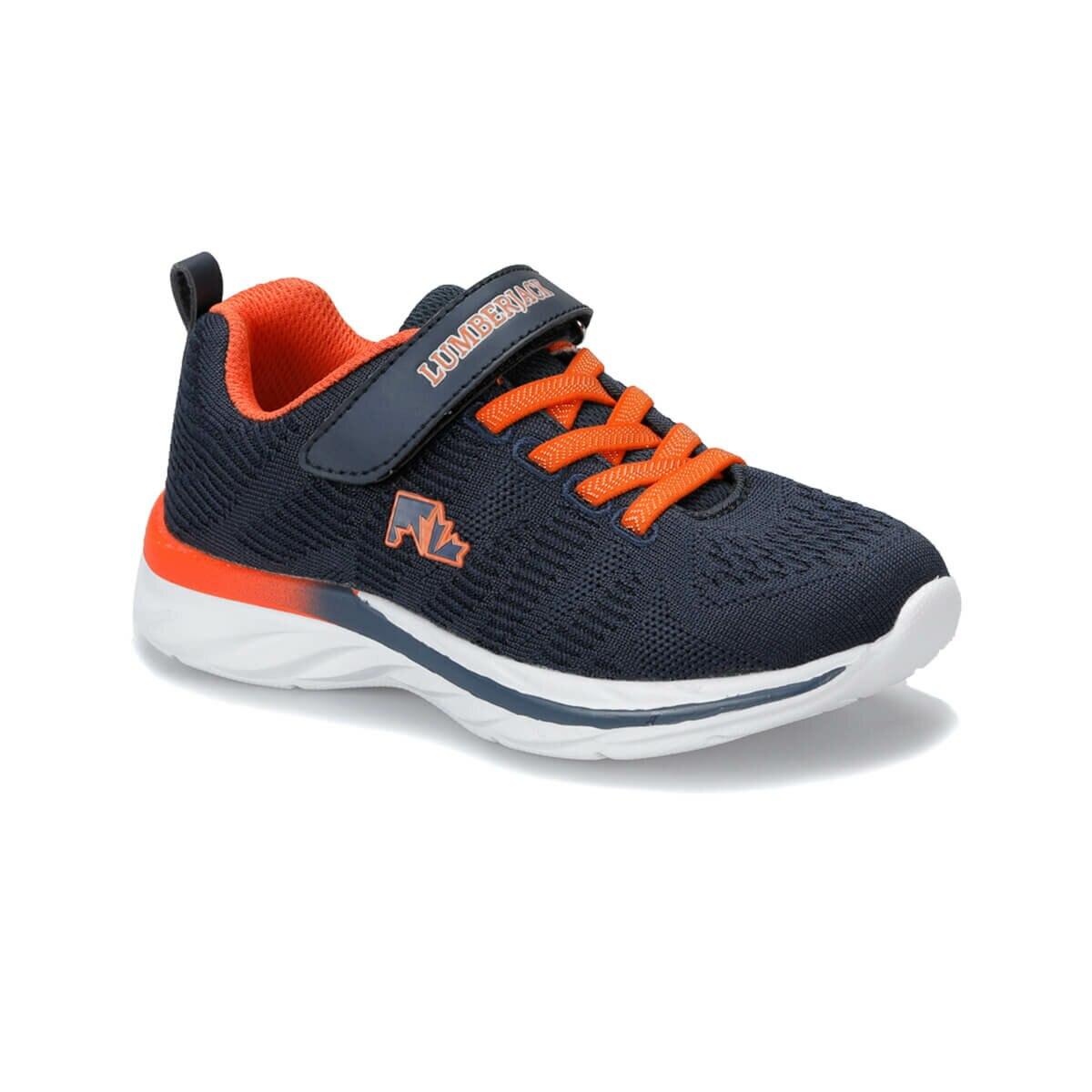 FLO SHARE Navy Blue Male Child Running Shoes LUMBERJACK
