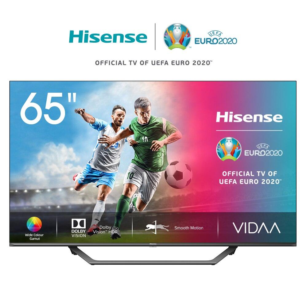 Телевизор 65 дюймов Hisense 4K Smart TV 65A7500F, Dolby Vision HDR, широкая цветовая гамма, звук DTS Virtual-X, 5055inch TV