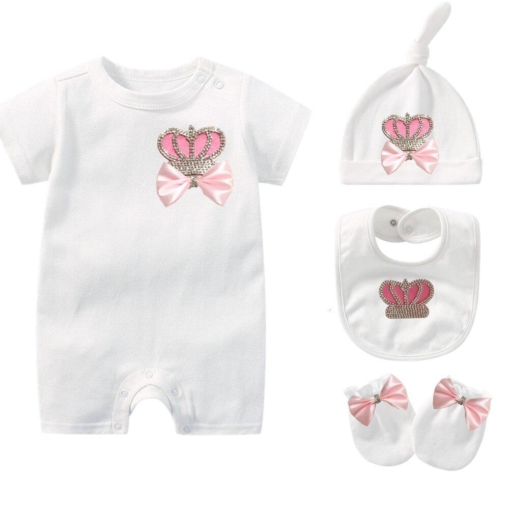 White New Born - 6m Baby Girl gift Set Baby Shower