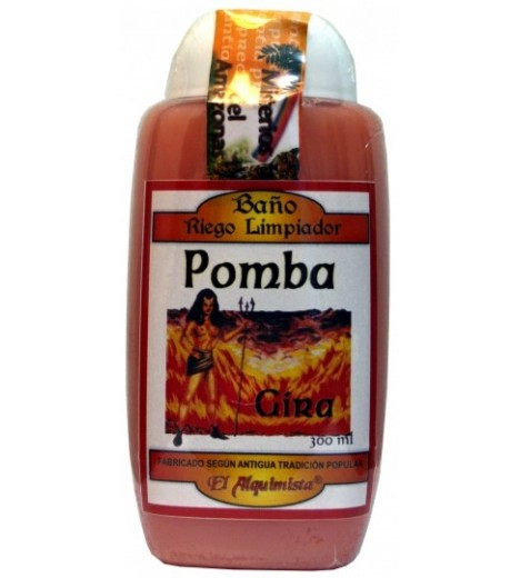 BATH Gel POMBA SPINNING (attracts Force Purifies)