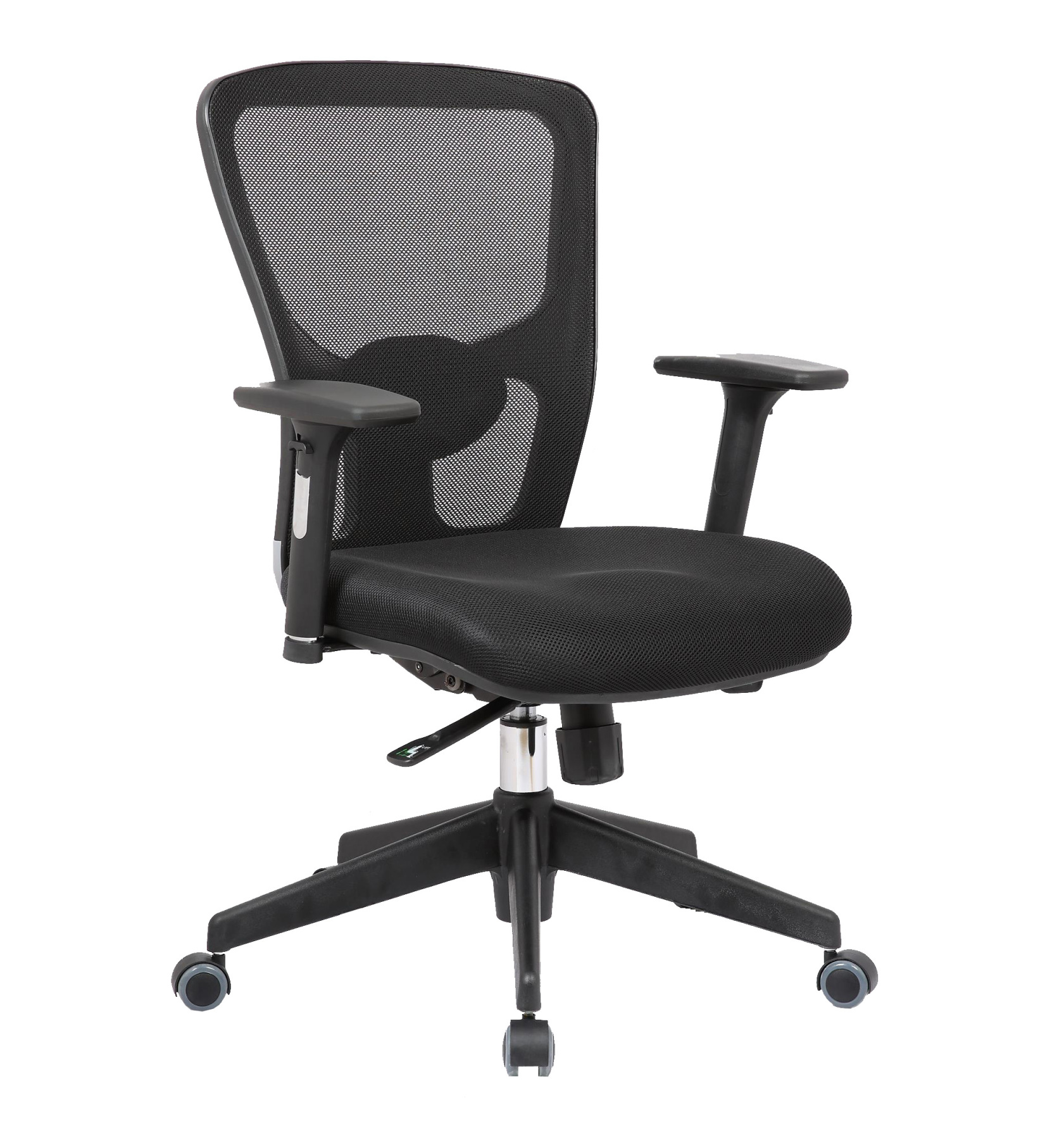 Chair's Office Desk Ergonomic With House Mechanism Sincro, Arms Adjustable And Tra Adjustable-respaldo De Mesh Lumbar Support