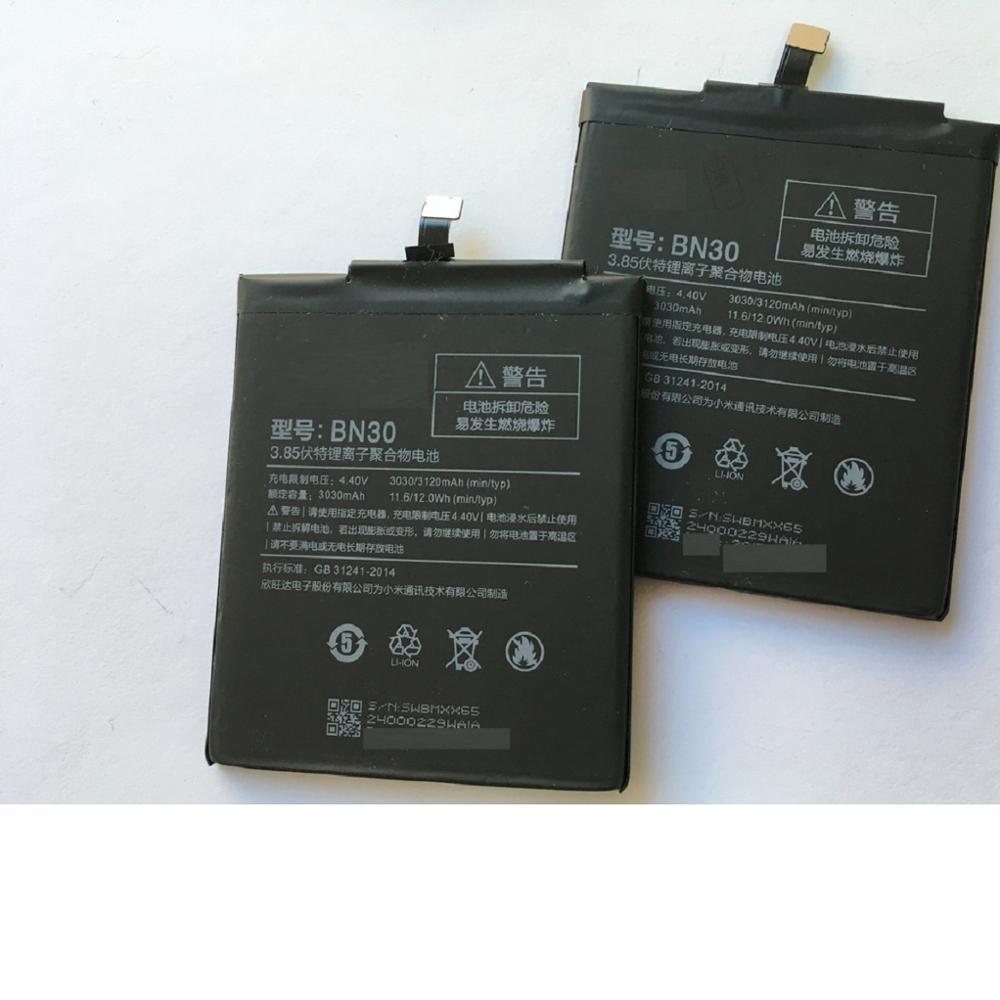 Аккумулятор BN30 для телефона Xiaomi Redmi 4A, 3120 мАч, Сменные Аккумуляторы высокого качества