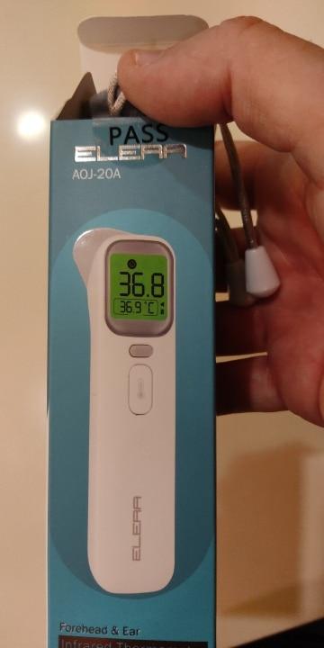Termómetro Digital infrarrojo LCD medidor de temperatura corporal sin contacto