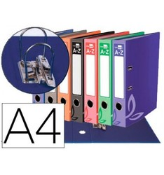 LEVER ARCH FILE LEADERPAPER FOLIO LINED WITH RADO LOMO 75 MM COMPRESSOR METAL ASSORTED COLORS 20 Pcs