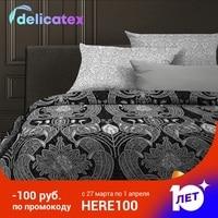 Bedding Set Delicatex 6468 1+6469 1 Hamburg Home Textile Bed sheets linen Cushion Covers Duvet Cover Рillowcase